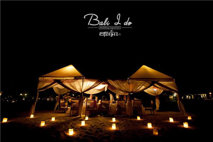 巴厘岛婚礼 婚礼晚宴 产品详情  ma joly 位于kuta库塔旺区,海景开阔