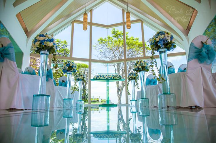 巴厘岛阿雅娜爵士娜教堂婚礼(爵士娜日落承诺婚礼)